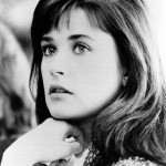 Young actress Demi Moore