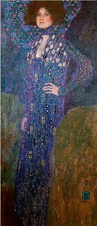 Emilie Floge by Klimt, 1902