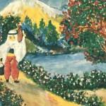Esref Armagan's painting