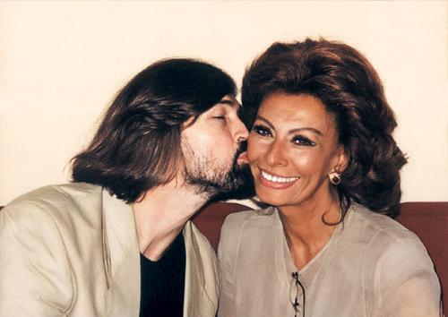 Favorite actress of Nikas Safronov - Sophia Loren