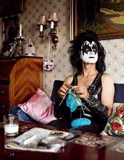 Rocker Gene Simmons (KISS)