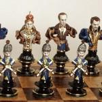chess. Porcelain