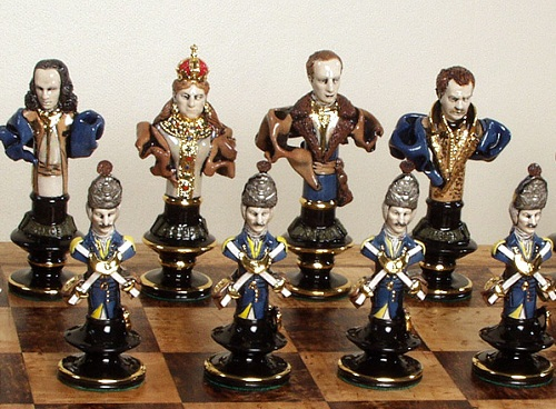 chess. Porcelain