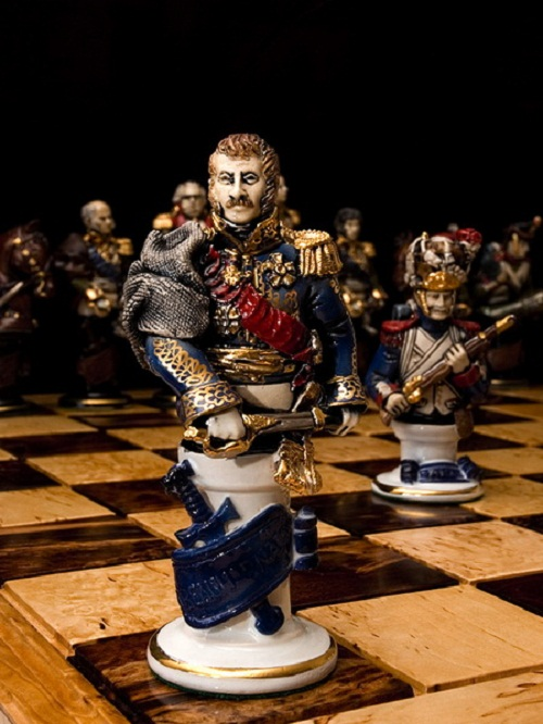 Chess set 'Borodino', 1991
