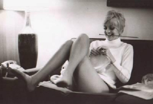 Actress and singer, Goldie Hawn