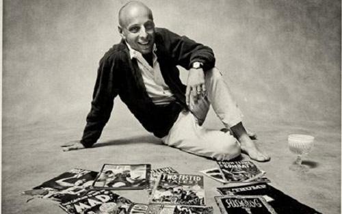 Cartoonist and editor of comic books and magazines Harvey Kurtzman among his creations