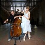 A musician and ballerina