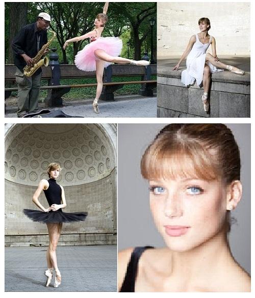 Gorgeous and talented ballerina Keenan Kampa