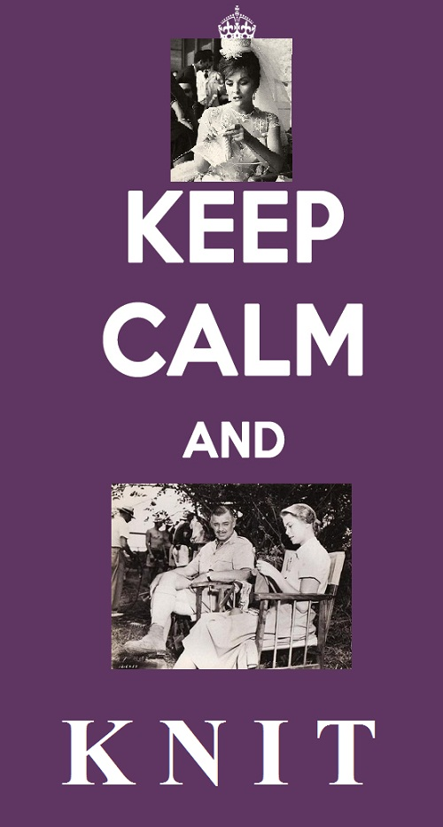 Just Keep calm and knit
