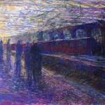 Keith Salmon, blind fine artist