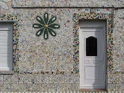 Beautifully decorated walls