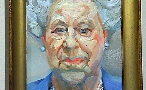 Lucian Freud's uncompromising portrait of the Queen