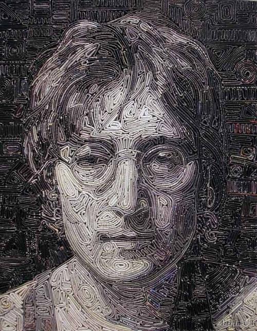 Magazine mosaic by Vasiliy Kolesnik