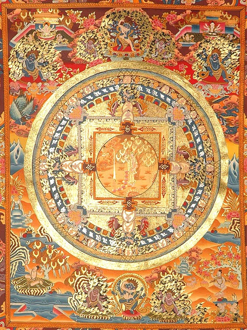 Mandala of Mahamaya (The Worldly Mother of Shakyamuni Buddha)