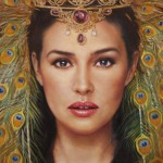 """Portrait series """"River of time"""""""