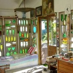 Art studio in New Zealand