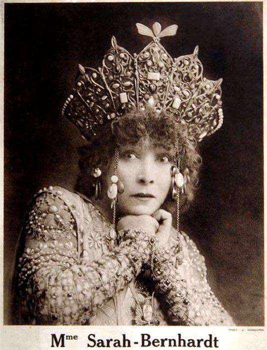 One of Iconic photos of Sarah Bernhardt as Theodora