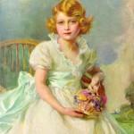 Philip Alexius de Laszlo – Princess Elizabeth of York Currently Queen Elizabeth II of England, 1933