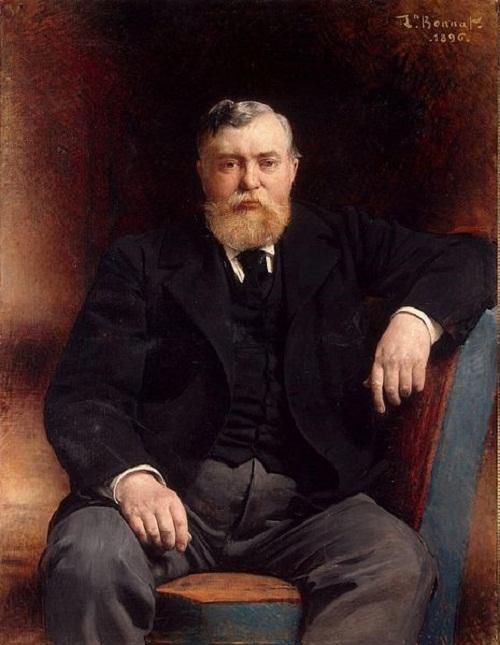 Portrait of Prince Tenishev by Leon Joseph Florentin Bonnat, (1833—1922)