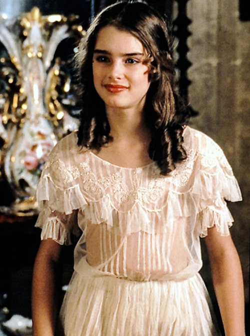 Brooke Shields in 1978 Pretty Baby as Violet