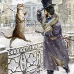Cat world by Vladimir Rumyantsev