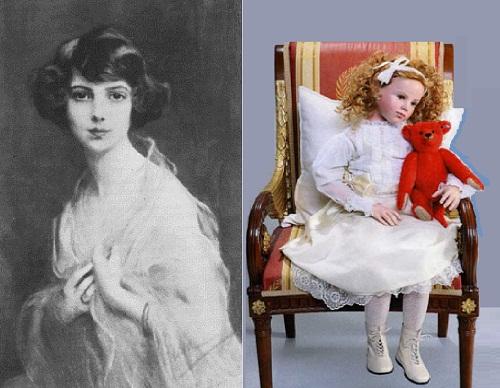 Russian princess Xenia and Alfonzo