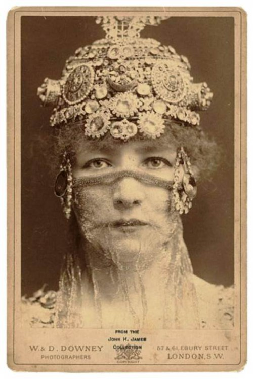 Sarah Bernhardt as Theodora