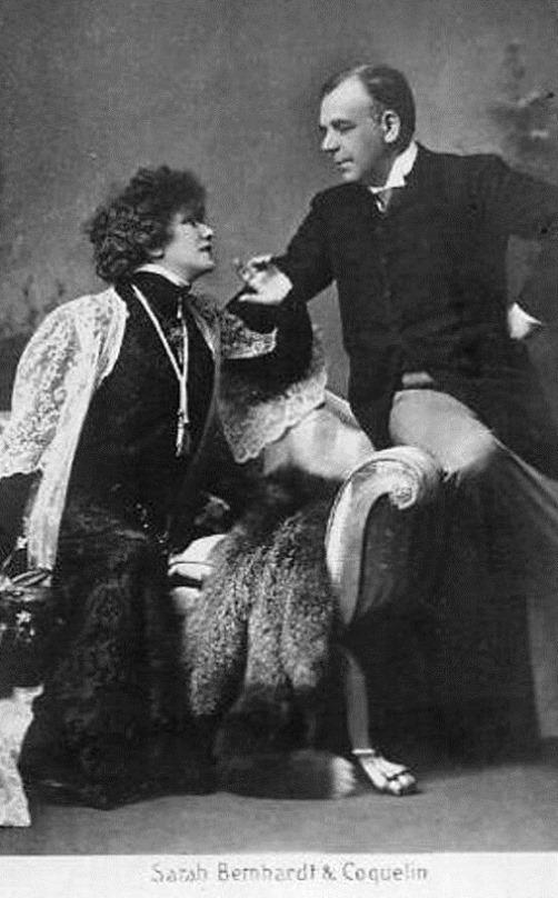 Coquelin and Sarah Bernhardt
