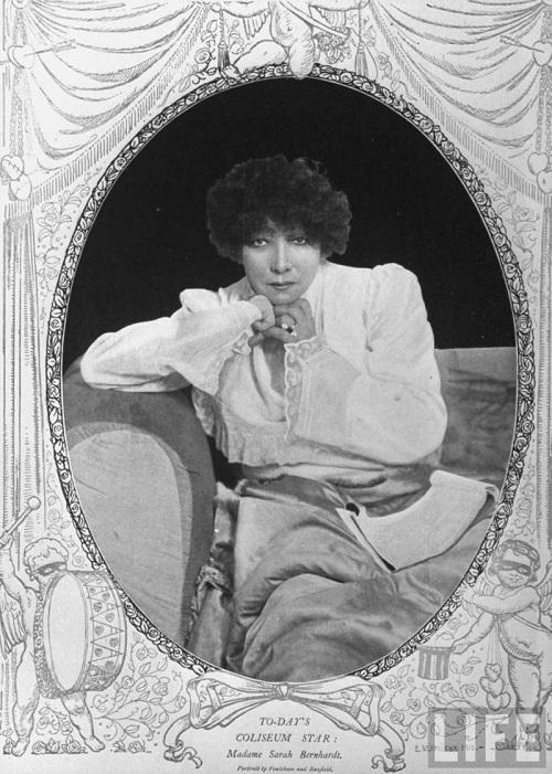 Art Nouveau diva Sarah Bernhardt
