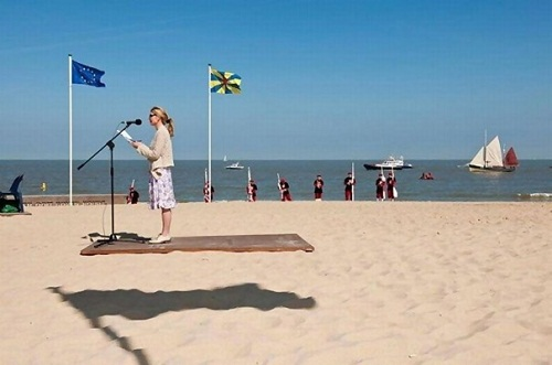 Creative not photo shopped illusions. Shadow under feet