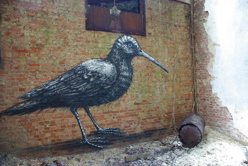 Belgian graffiti artist Roa makes this world a beautiful place
