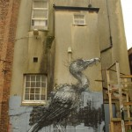 Creation of Belgian graffiti artist Roa