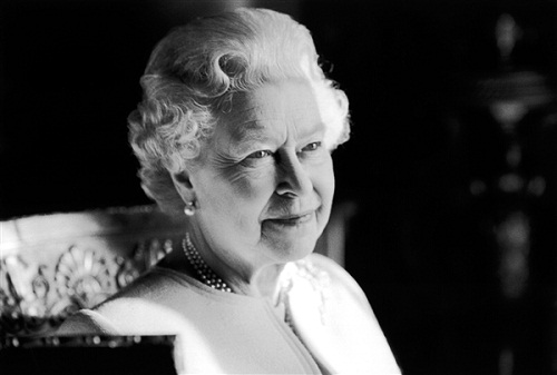 80th birthday portrait, taken in February 2006, is one of 60 photographs included in an exhibition at Windsor Castle's Drawings Gallery to celebrate The Queen's Diamond Jubilee