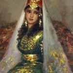 Turkish beauty in paintings of Ramzi Taskıran