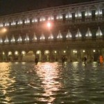 According to the monitoring institute, water level in the canal city rose to 140 cm (55 inches) above normal