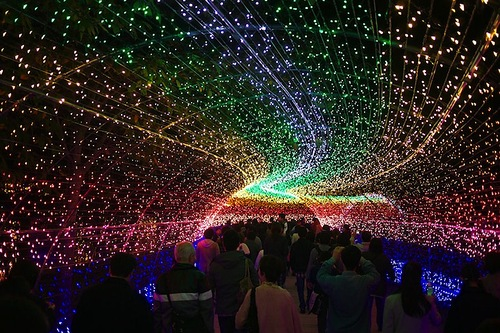 Winter Light – The world's largest light installation in Japan