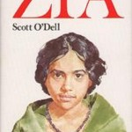 Zia. Island of the Blue Dolphins by Scott O'Dell. It was published in 1976, sixteen years after the publication of the first novel