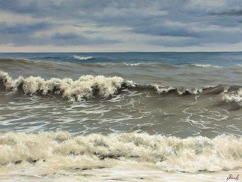 Waves. artist Alexey Adamov