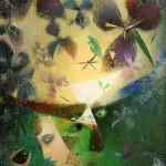 Night dreams. Painting by Belarusian artist Elena Shlegel