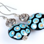 Glass jewelry by Tatiana Semykina