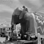 mechanical elephant Nellie