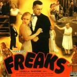 Promotional poster. 1932 American horror movie Freaks