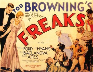 Poster of 1932 American horror movie Freaks