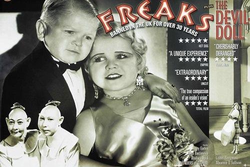 "Banned American horror film ""Freaks"""