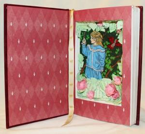"""""""The Secret Garden"""" Book Sculpture"""