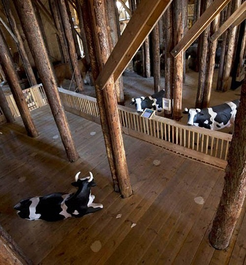 Noah's Ark built by Dutch enthusiast carpenter Johan Hubers