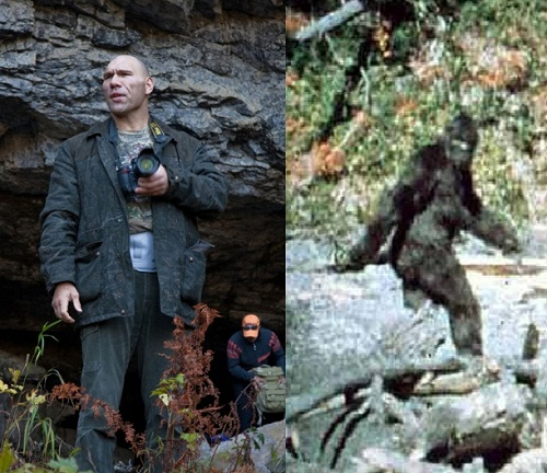 Nikolai Valuev Siberian Yeti and Brazilian ape man