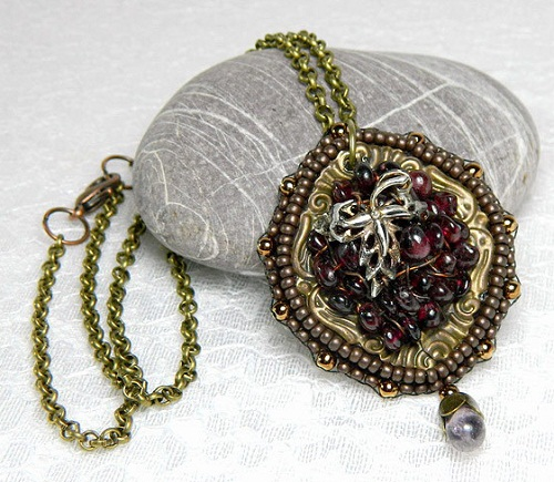 steam punk jewelry by Russian craftswoman Irina, STASIRRA