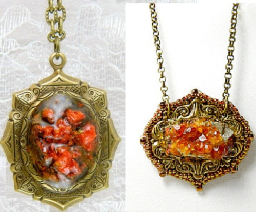 Beautiful Steam punk pendants