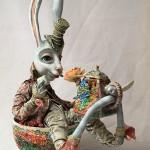 Philosophical Dolls by Russian artist Nadezhda Sokolova